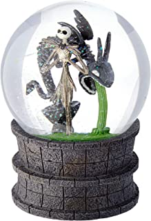 Department 56 Disney Classic Brands Nightmare Before Christmas Jack in The Fountain Globe Waterball, 6.25
