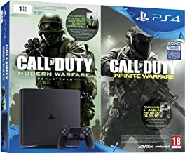 Sony Playstation 4 1Tb + Call of Duty : Infinite Warfare + Modern Warfare Remastered - Edition Legacy, Black