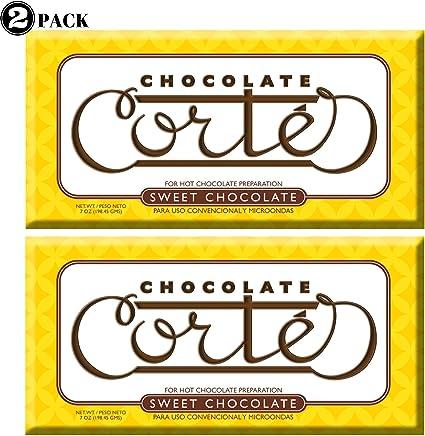 Chocolate Cortes Sweet Chocolate (2 Pack) 7 Oz each