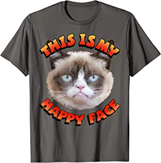 This Is My Happy Face Graphic T-Shirt