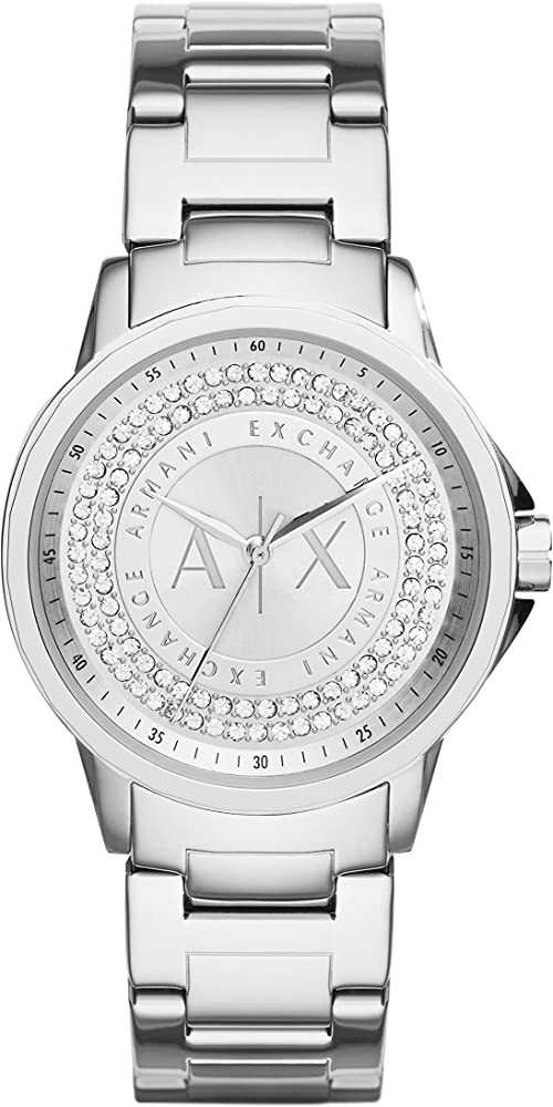 Armani exchange orologio analogico quarzo donna AX4320