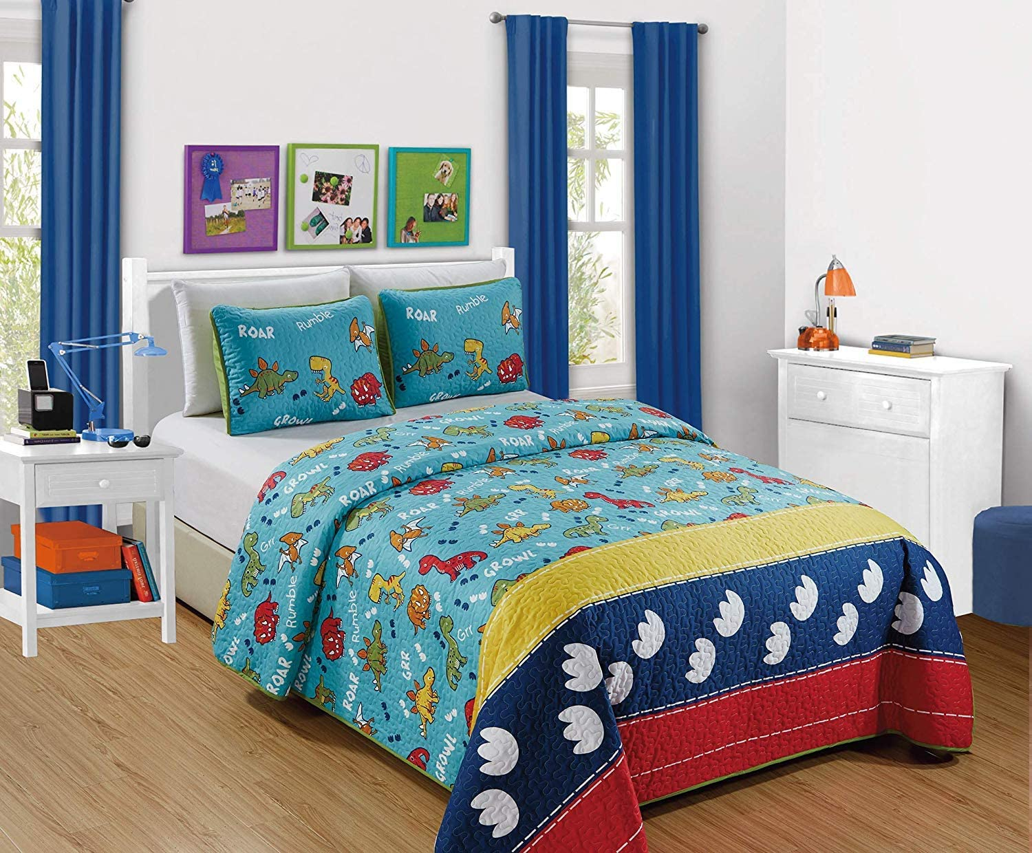 Luxury Home Collection Kids 2 Very popular! OFFicial Coverlet Bedspread Twin Piece Size