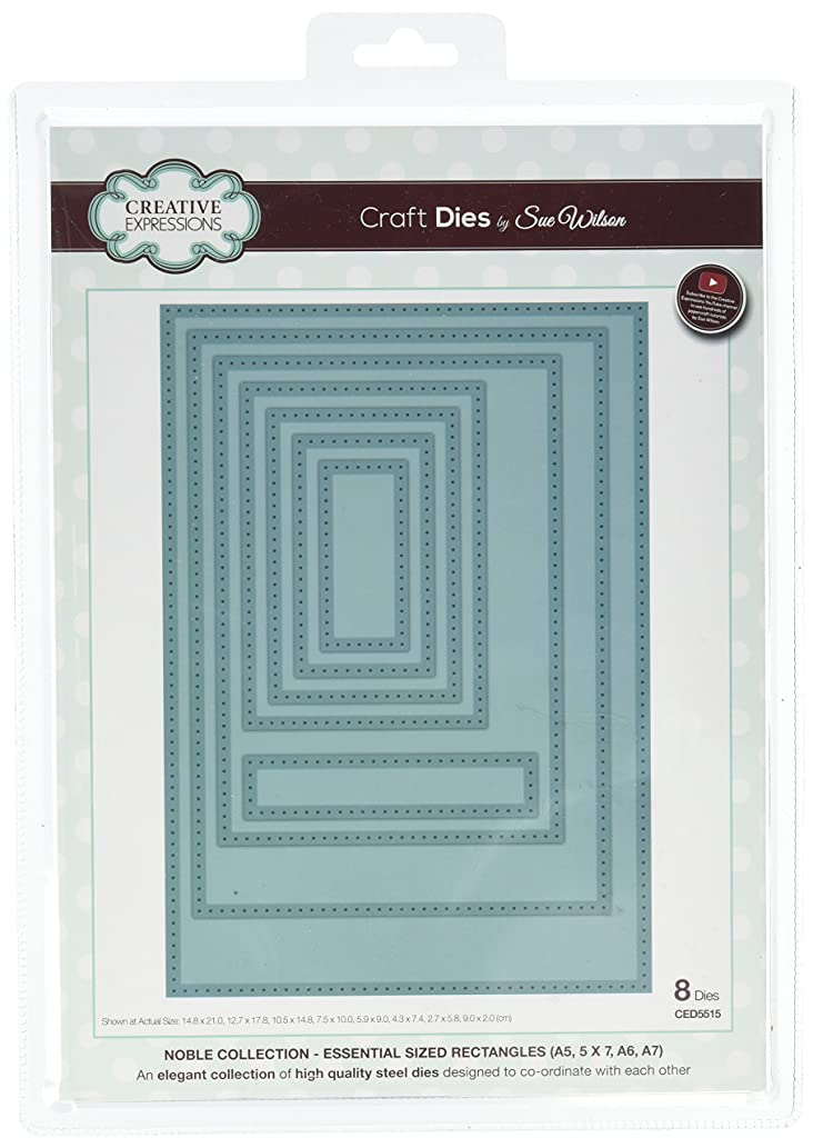 Sue Wilson NobleDies Collection Essential Sized Rectangles