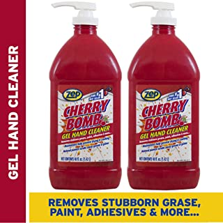 Zep Cherry Bomb Hand Cleaner 48 Ounce ZUCBHC48CA (Case of 2) - Great for Mechanics!