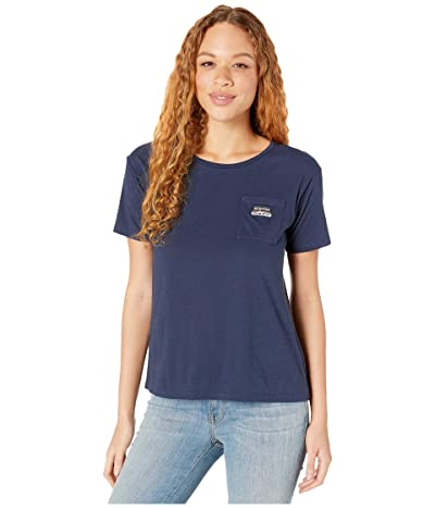 Burton Classic Short Sleeve Pocket T-Shirt (Dress Blue) Women