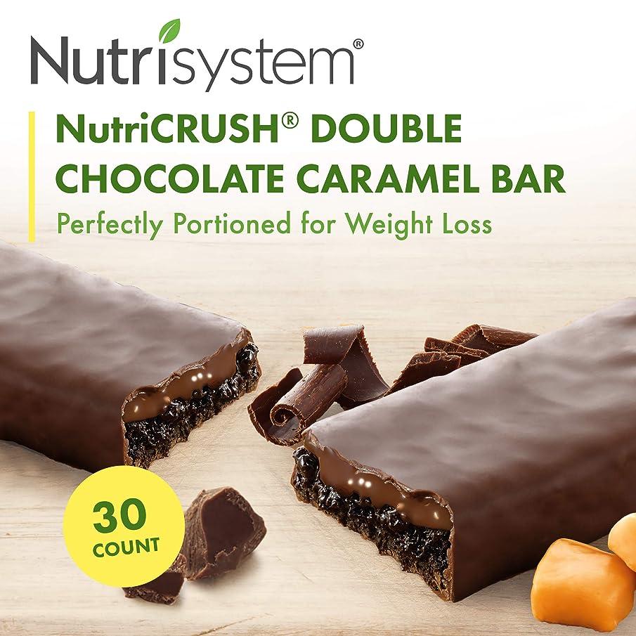 Nutrisystem? NutriCRUSH? Double Chocolate Caramel Bars, 30 ct.