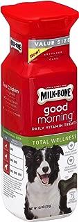 Milk-Bone Total Wellness Good Morning Daily Vitamin Dog Treats, 15 Ounce