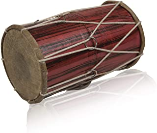 Handmade Wooden & Leather Classical Indian Folk Tabla Drum Set Hand Percussion Drums World Musical Instruments Punjabi Dho...