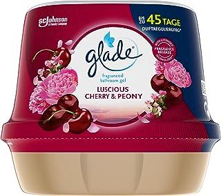 Glade Gel parfumé pour salle de bain Cherry & Peony, 2,2 kg