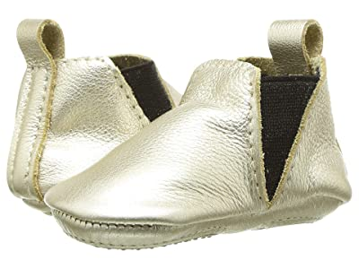 Freshly Picked Platinum Chelsea Boot Mini Sole (Infant/Toddler) (Platinum Metallic) Girl