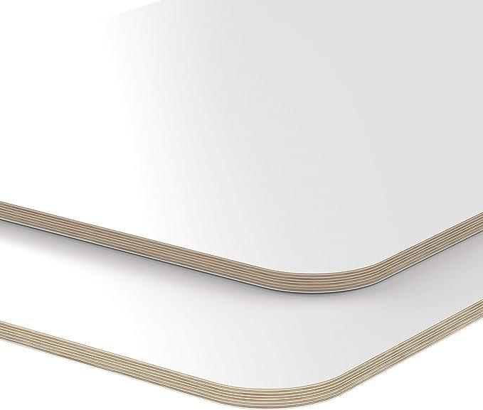 40x20 cm AUPROTEC Tischplatte 18mm rot 400 mm x 200 mm rechteckige Multiplexplatte melaminbeschichtet von 40cm-200cm ausw/ählbar Birken-Sperrholzplatten Massiv Holz Industriequalit/ät Auswahl