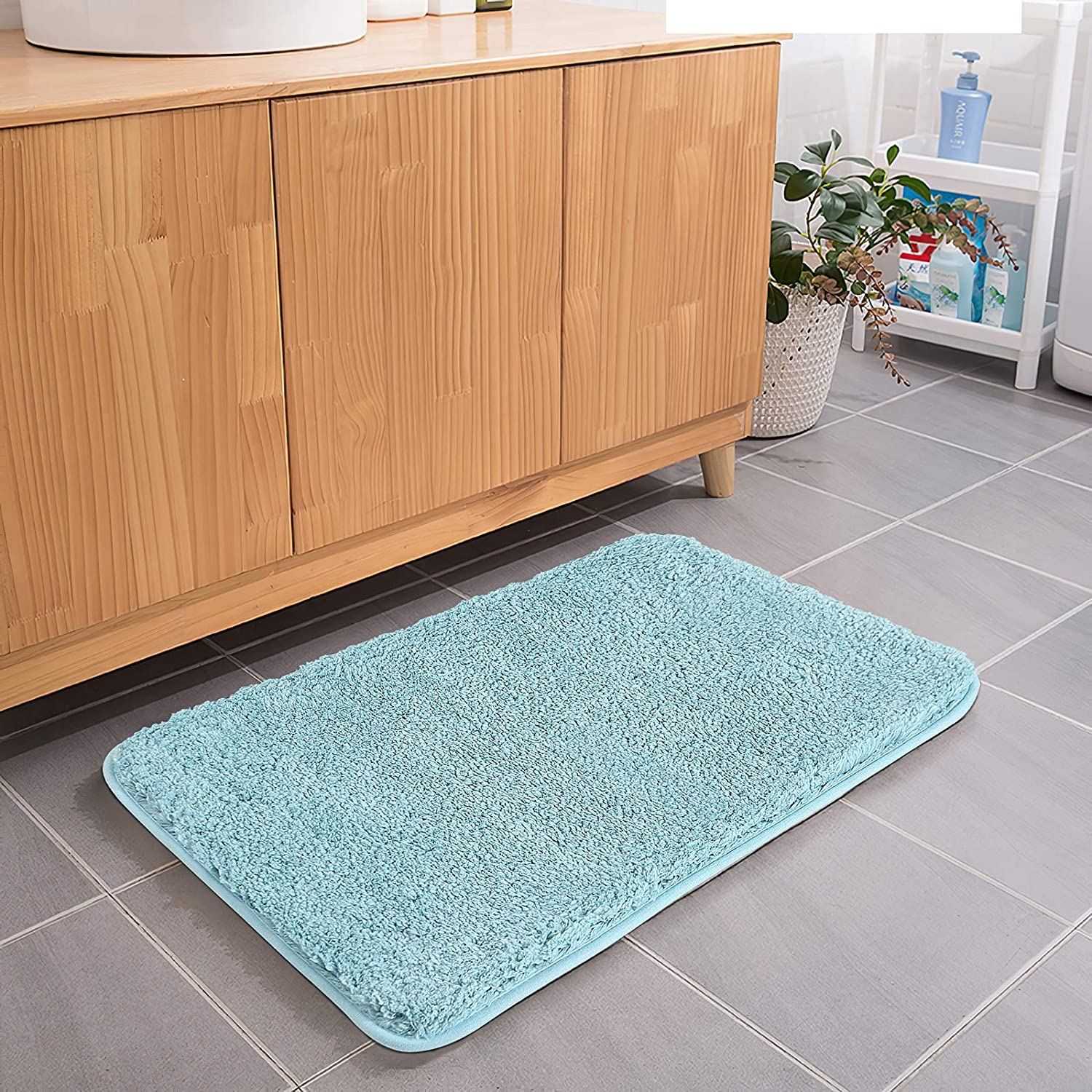 Bath Max 41% OFF Rug COSY HOMEER 40x24 Inch Thickness W Max 61% OFF Shaggy Soft Non-Slip