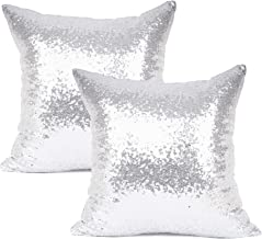 silver accent pillows