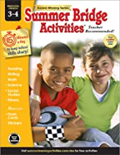 Summer Bridge Activities | Bridging Grades 3-4 | Summer Learning Workbook | 160pgs