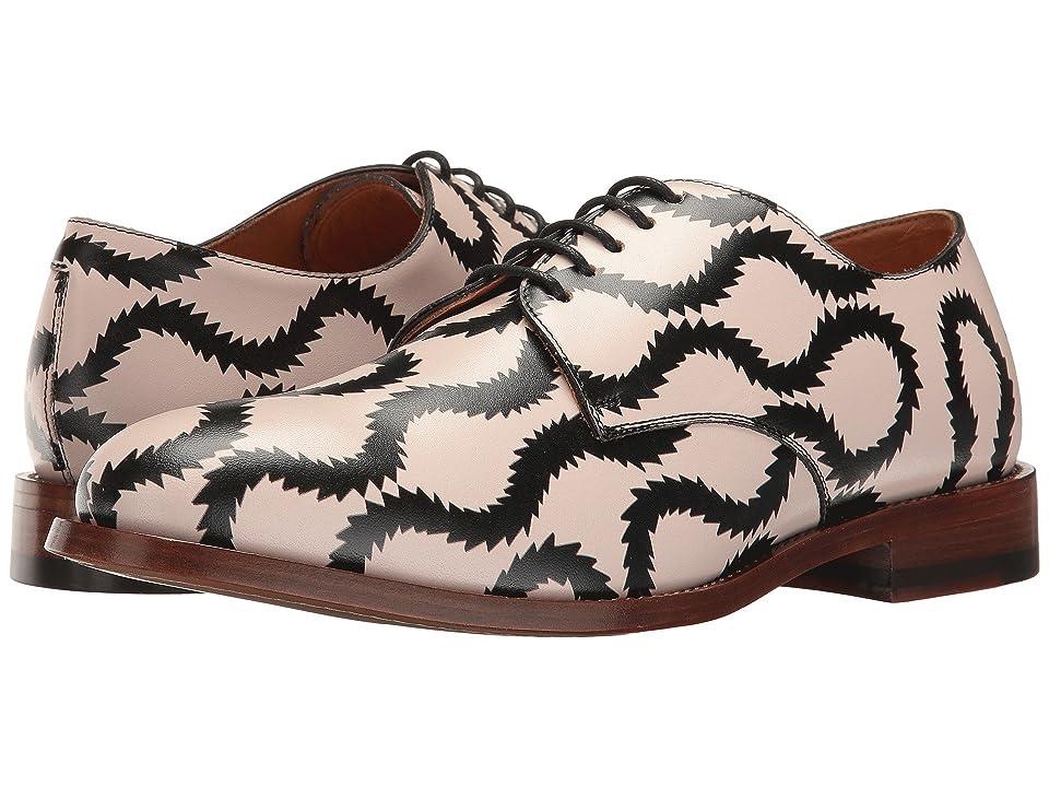 Vivienne Westwood Utility Derby Shoe (Pink/Dark Blue) Men