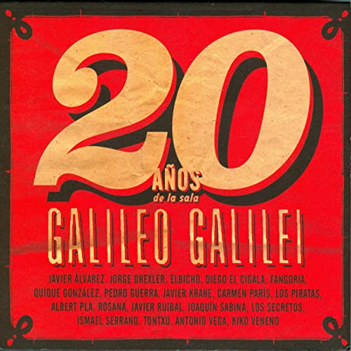 Antonio La Sala.20 Anos De La Sala Galileo Galilei By Various Artists On