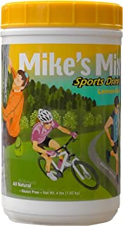 Mike's Mix Sports Hydration Electrolyte Drink, 4 lbs-Lemon Aid