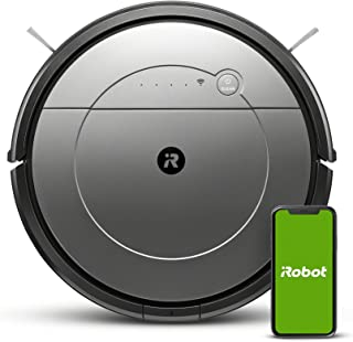 iRobot® Roomba® Combo(TM) 111840 robot vacuum & mop connected Robot Vacuum with multi cleaning modes - Powerful vacuuming...