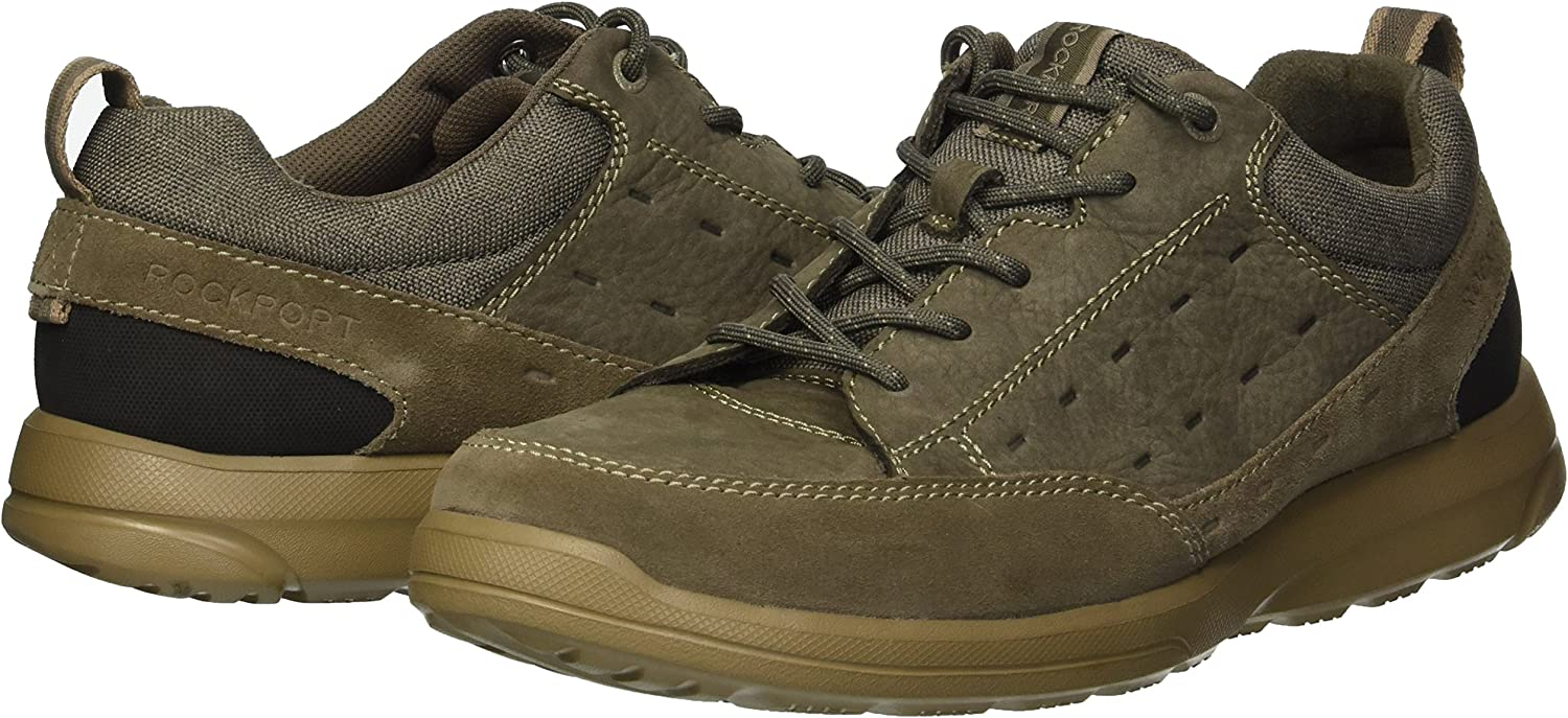 Rockport Mens Rydley Lace Up Fashion Sneaker
