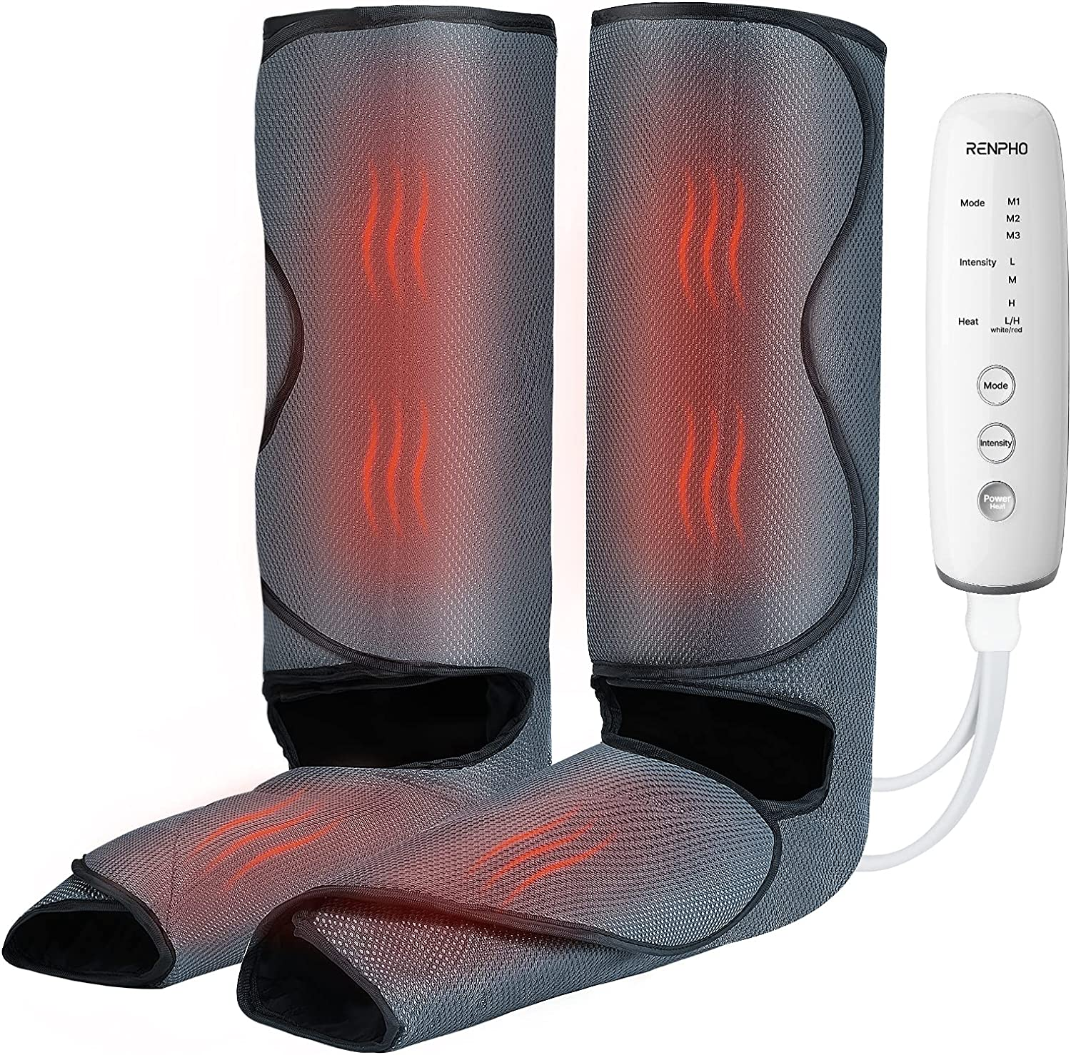 RENPHO Leg Max 46% OFF Massager with Heat and Foot Massage Calf Compression Ranking TOP11