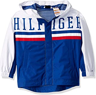 Tommy Hilfiger Boys' Adaptive Light Weight Jacket with Magnetic Buttons