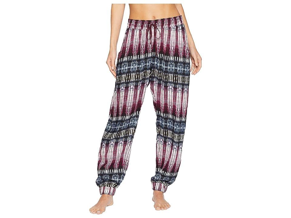 Splendid Night Sky Printed Crop Pajama Pants (Night Sky Stripe) Women