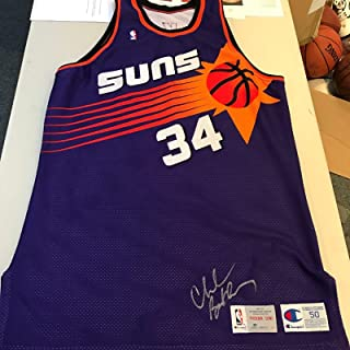 3b0fcd269188 One Of The Finest 1992-93 Charles Barkley Game Used Signed Phoenix Suns  Jersey -