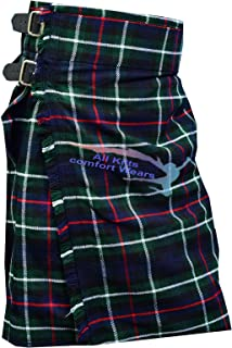 Men's Scottish Mackenzie 5 Yard & 13Oz Tartan Kilt - Tartan Kilts