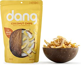 Dang Toasted Coconut Chips, Gluten-Free, Paleo, Vegan, Non-GMO, Caramel Sea Salt, 3.17 Ounce (1 Count)