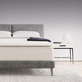 """Signature Sleep Contour Hybrid 12"""" Independently Encased Coil Memory Foam Pillow-Top Mattress, Bed-in-a-Box, Full"""