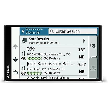 Garmin DriveSmart 61 NA LMT-S with Lifetime Maps/Traffic, Live Parking, Bluetooth,WiFi, Smart Notifications, Voice Activation, Driver Alerts, TripAdvisor, Foursquare