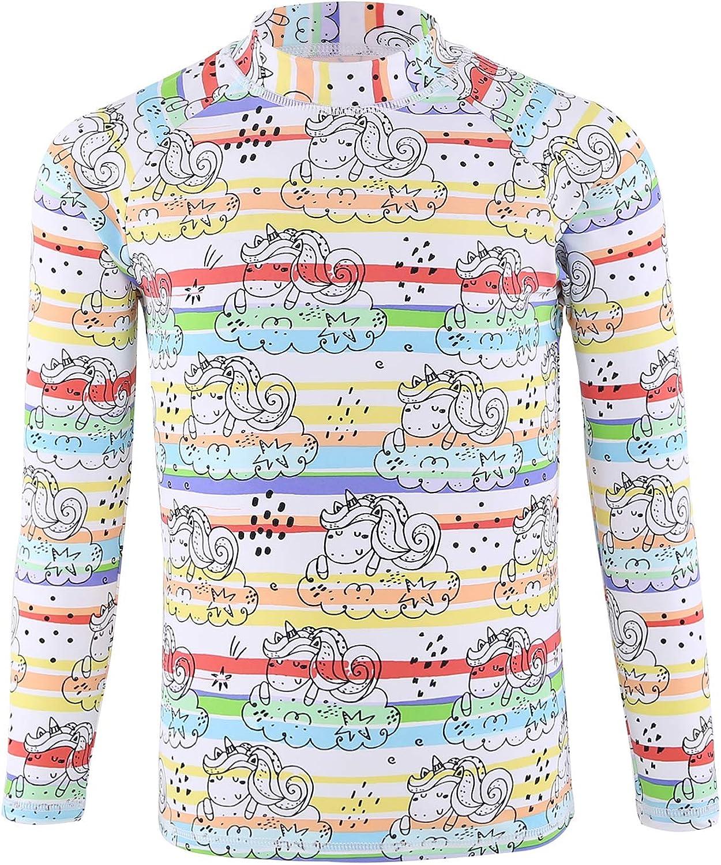 HowJoJo Boys Max 59% OFF Short Inexpensive Sleeve Rash Guard Shirts Shirt UPF Swim 50+