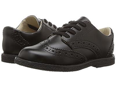 FootMates Logan (Toddler/Little Kid) (Black) Boys Shoes