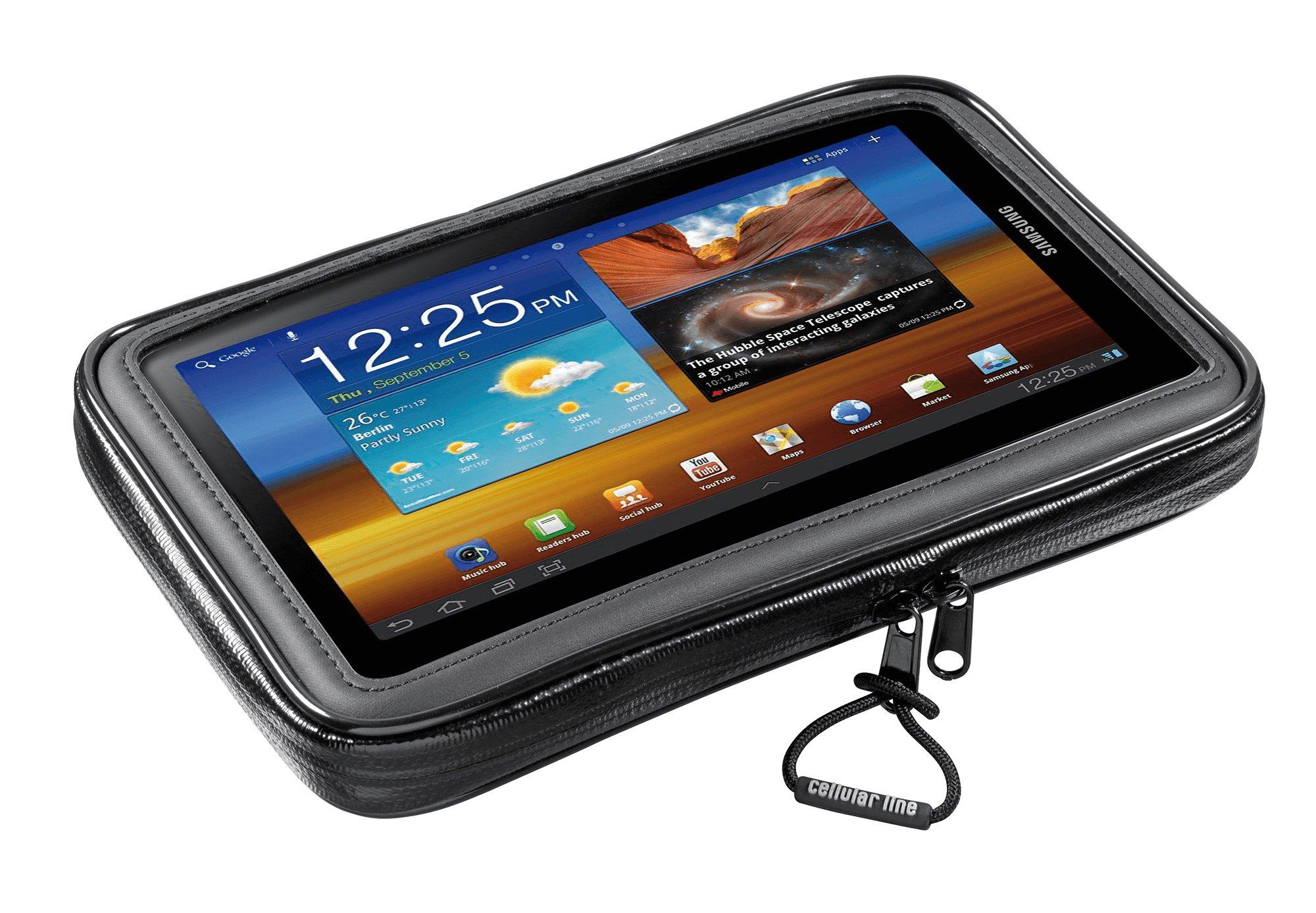 Cellular Line Interphone - Soporte para Bicicleta o Moto para Smartphone y Tablet de hasta 17,8 cm (7 Pulgadas): Amazon.es: Informática