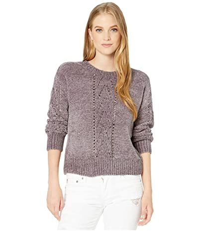 BB Dakota Chenille My Love Sweater (Medium Grey) Women