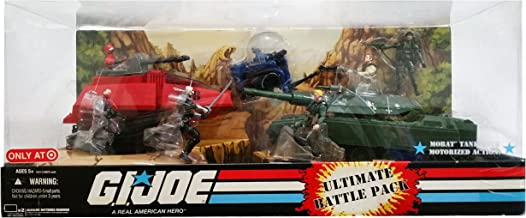 G.I. Joe 25th Anniversary Exclusive Vehicle Ultimate Battle Pack with Mobat, Crimson H.I.S.S. (HISS) Tank, Cobra Trouble Bubble & 7 Figures