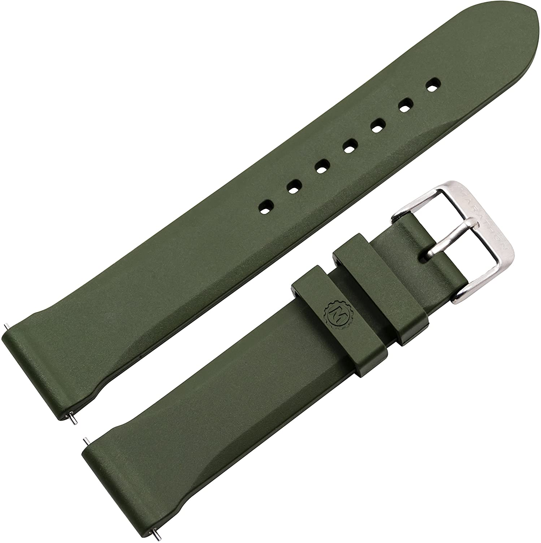 Marathon Branded goods Vulcanized Rubber Dive Watch - Strap Grade depot Non Military