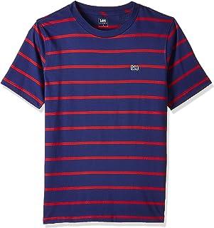 Lee Stripe T Camiseta para Hombre