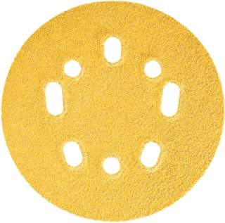 Norton 5`` X 5/8 HOLE UVH, 120 Grit Sandpaper, 25 Pack