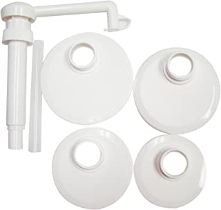 Action Pump J1-kit Food Pump Kit with Lids for Transfer of Ketchup, Sauces, Syrups