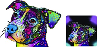 Enjoy It Dean Russo Pit Bull (My Favorite Breed) Car Sticker & Vanilla Air Freshener Set