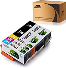 JARBO Compatible Ink Cartridges Replacement for HP 920 920XL High Yield, 2 Black 1 Cyan 1 Magenta 1 Yellow, Compatible with HP Officejet 6500 6000 7000 7500 6500A 7500A Printer