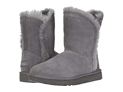 UGG Classic Short Fluff High-Low (Charcoal) Women