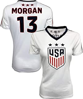 USA Morgan Soccer Jersey for Women and Girls, Official US...