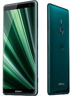 Sony Xperia XZ3 - Smartphone de 6 QHD+ HDR 18:9 OLED (Snapdragon 845 4 GB de RAM  memoria interna de 64 GB cámara de 19 MP Android) color verde + Micro SD Sony de 64 GBs [Exclusivo Amazon]