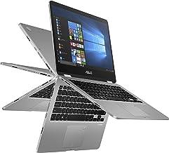 "ASUS Vivobook Flip 14 Thin and Light 2-in-1 Laptop, 14"" HD Touchscreen, Intel Quad-Core Pentium N5000 Processor, 4GB DDR4,..."