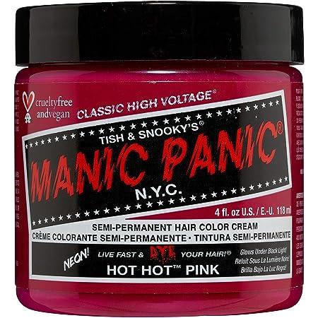 Manic Panic - Hot Hot Pink Classic Creme Vegan Cruelty Free Semi-Permanent Hair Colour 118ml