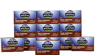 Wild Planet Wild Sardines in Marinara Sauce, Keto and Paleo, 4.4 Ounce (Pack of 12)