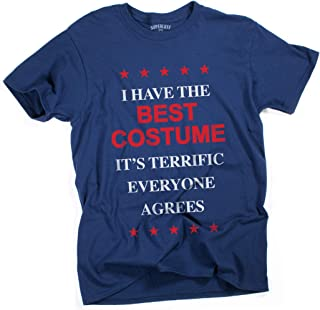 Superluxe Clothing Mens I Have The Best Halloween Costume Trump T-Shirt