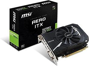 MSI GeForce GTX 1050 TI Aero ITX 4G OC 4 GB GDDR5 - Tarjeta gráfica (GeForce GTX 1050 Ti, 4 GB, GDDR5, 128 bit, 2560 x 1600 Pixeles, PCI Express x16 3.0)